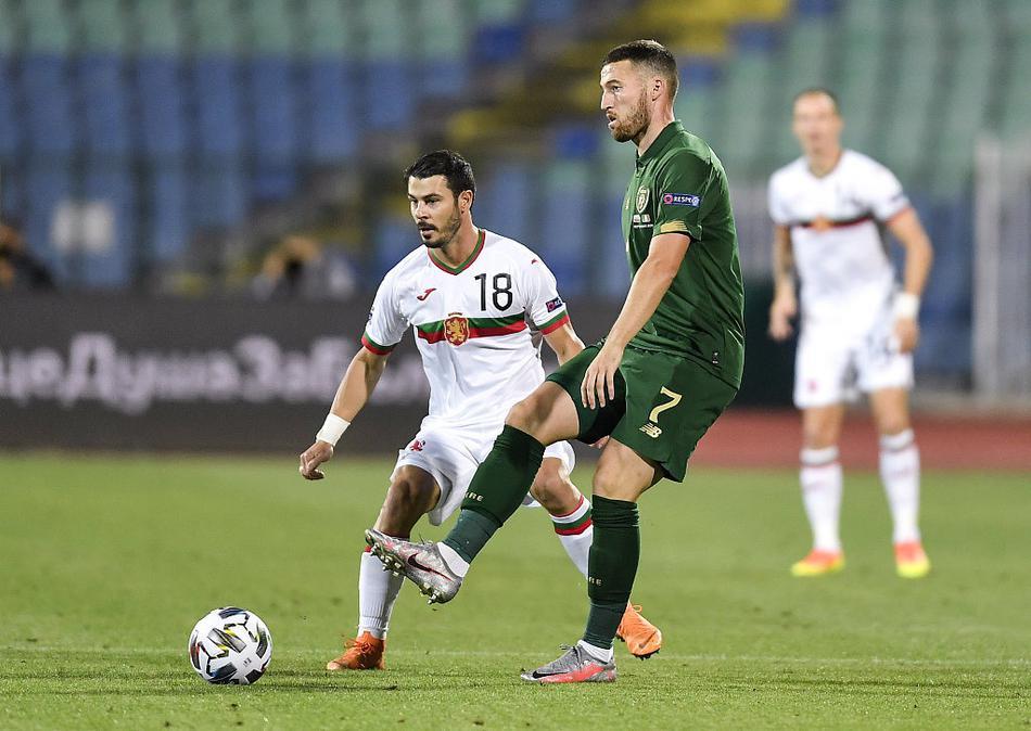 欧国联保加利亚1-1爱尔兰