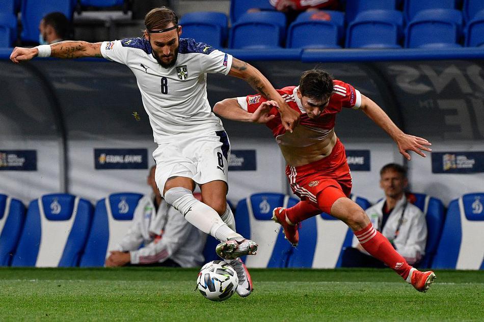 欧国联俄罗斯3-1塞尔维亚