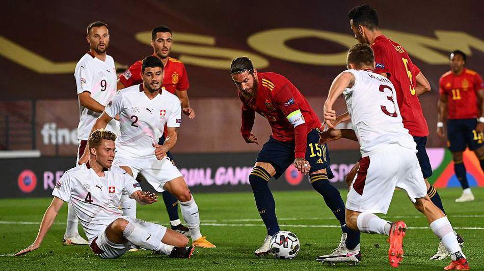 国际足坛最新图:德国胜乌克兰取欧国联首胜!西班牙力克瑞士