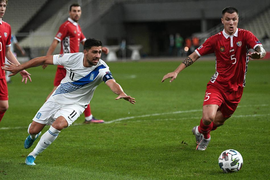 欧国联希腊2-0摩尔多瓦