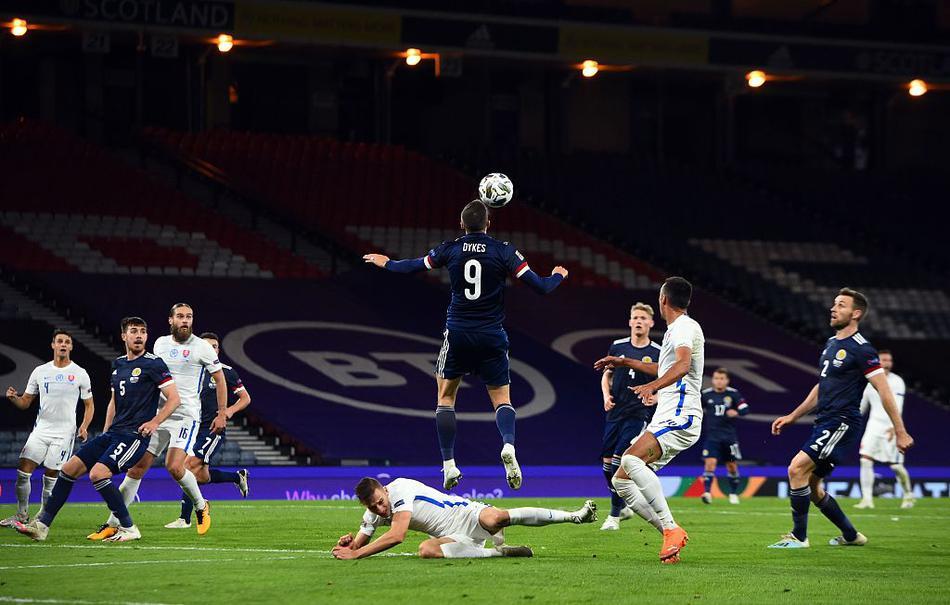 欧国联苏格兰1-0斯洛伐克