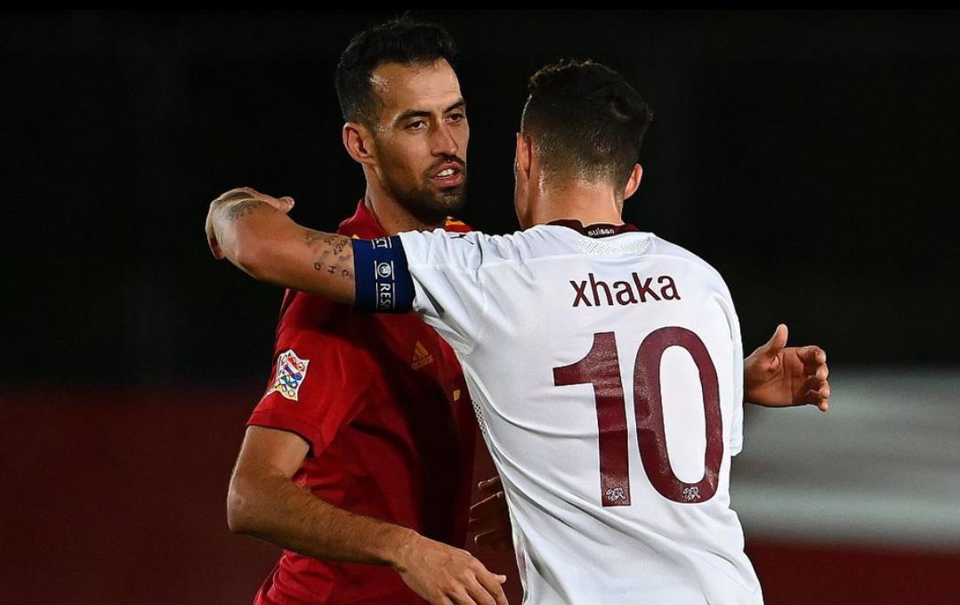 欧国联第三轮西班牙1:0瑞士,奥亚萨瓦尔打进全场唯一进球