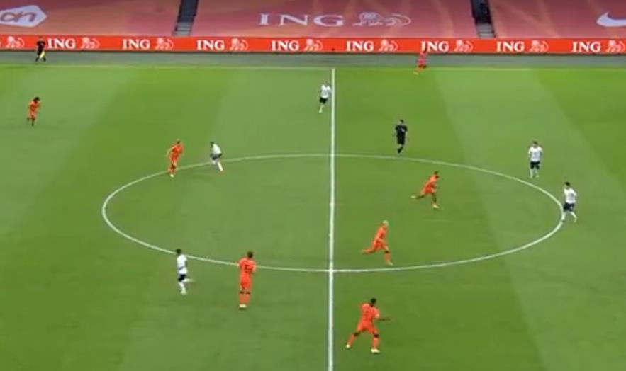 【欧国联集锦】荷兰0:1意大利