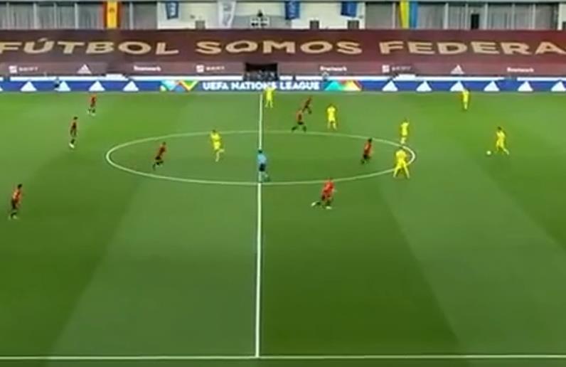 【欧国联集锦】西班牙4:0乌克兰