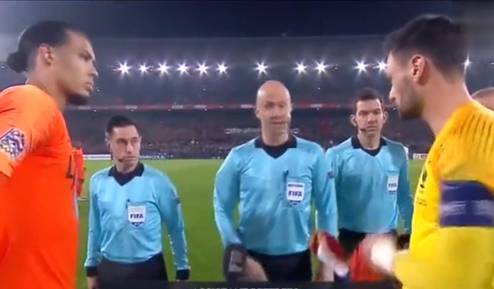 欧国联比赛集锦:荷兰2-0法国