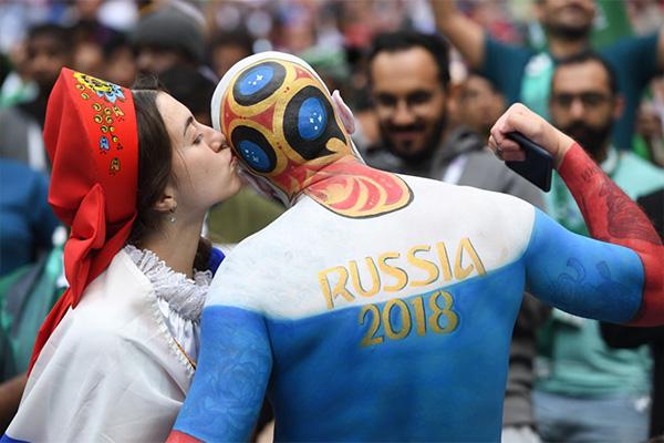 2018年世界杯开幕式上有哪