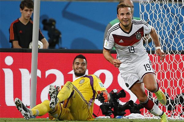 2014世界杯决赛德国队谁进