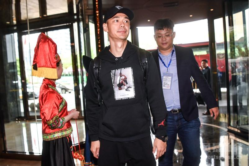 2018年3月19日,广西南宁,2018中国杯前瞻,部分国脚抵达南宁下榻酒店