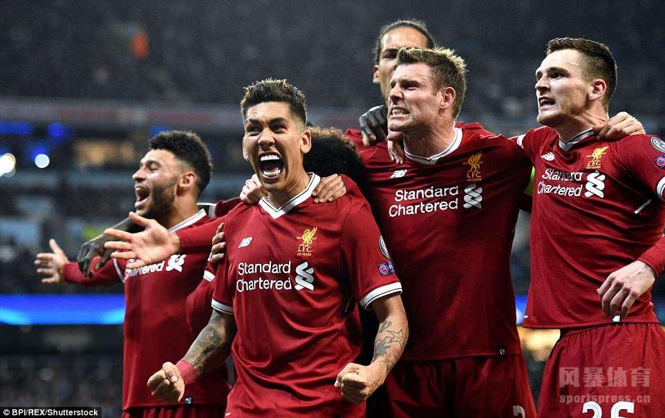 欧冠8强战第二回合,曼城一输再输,在主场1-2输给利物浦,一周内遭遇欧冠英超三连败。
