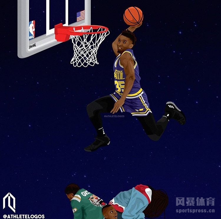 威少西蒙斯领衔 NBA球员高清漫画图集