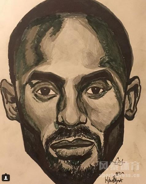 微博@篮天下 发出了NBA九位球星的素描手绘图,大家觉得哪张最像呢?