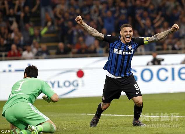 意甲第35轮迎来意大利德比,国米主场2-3不敌尤文,多赛一场落后前四1分,尤文暂时领先第二位那不勒斯4分。