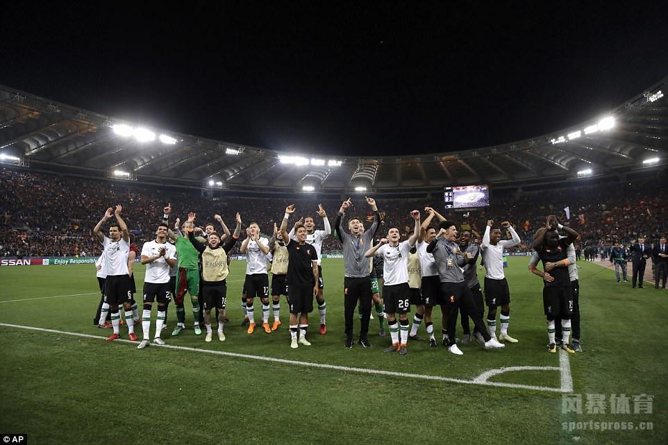 利物浦总分7-6晋级欧冠决赛 罗马连追三球仍出局