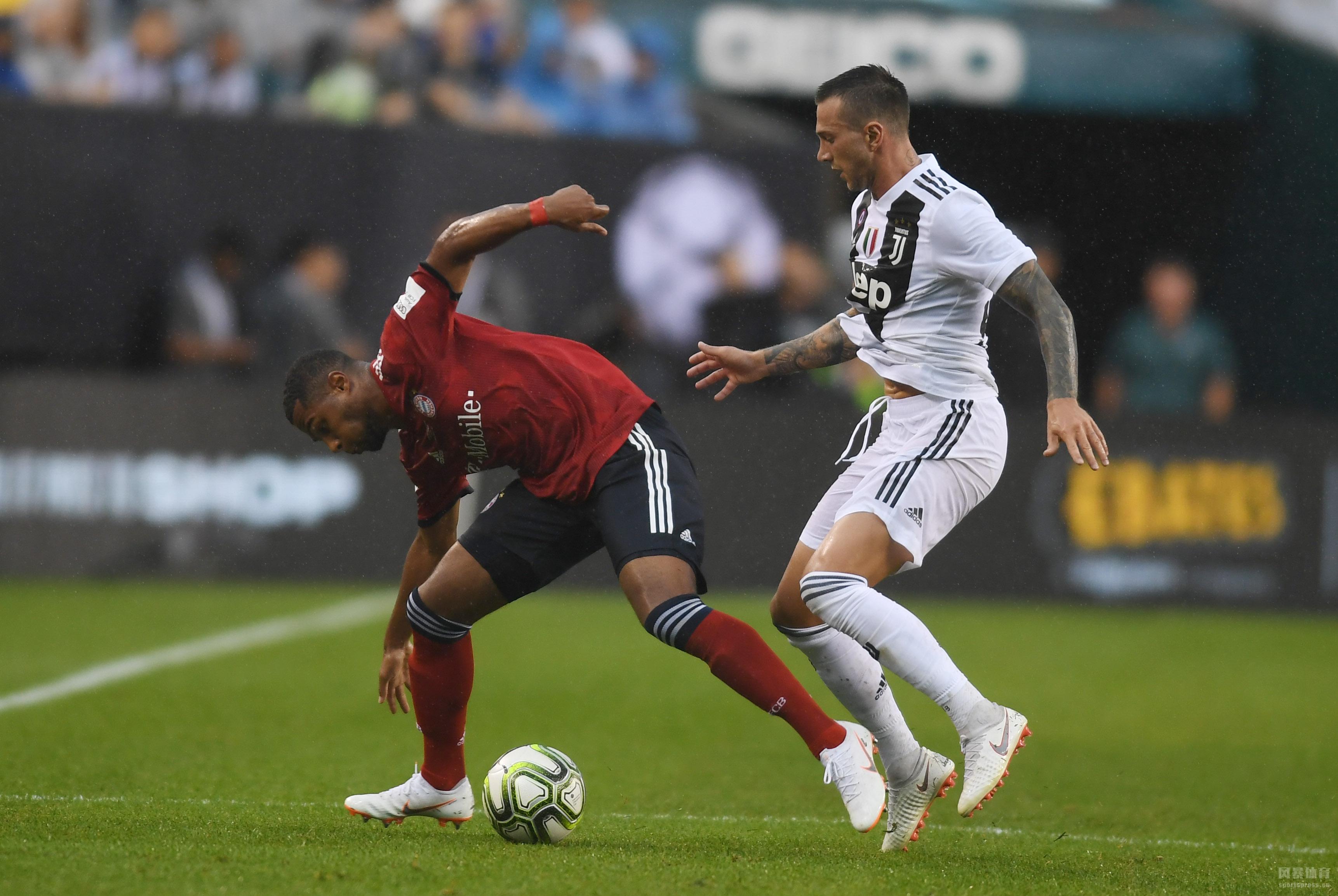 国际冠军杯尤文2-0拜仁 法维利梅开二度 南部之星狂攻无果