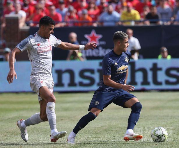 国际冠军杯双红会 沙奇里倒钩破门 利物浦4-1曼联