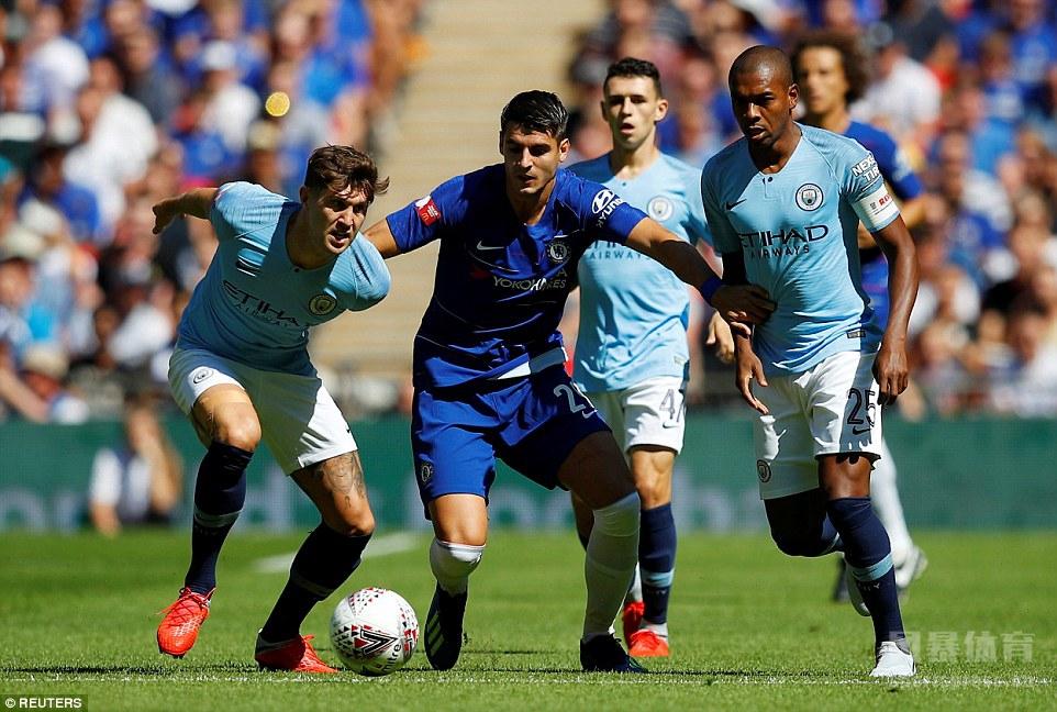 社区盾曼城2-0切尔西 阿圭罗梅开二度 成队史200球首人