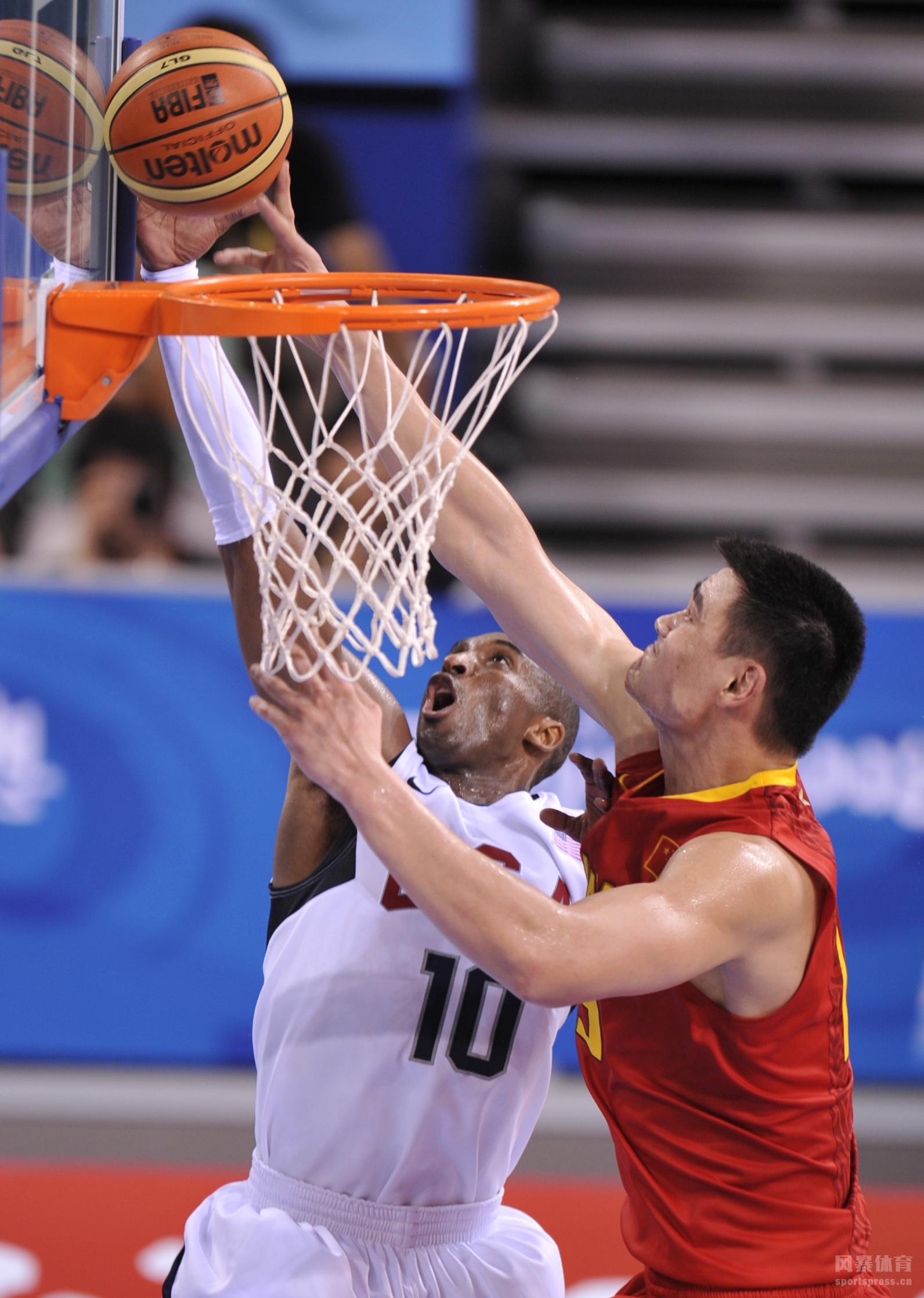十年如一梦!2008奥运会中国男篮鏖战梦八队