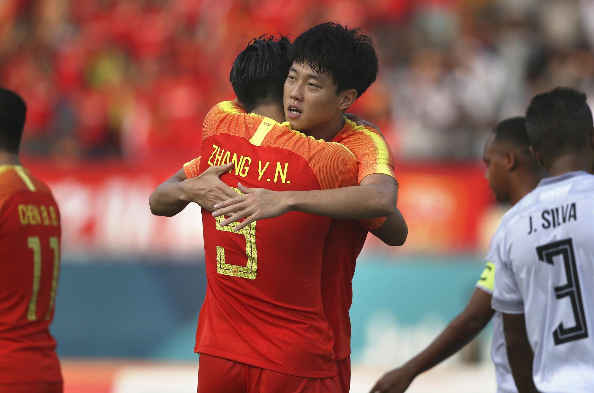 2018年印尼亚运会男足小组赛C组首轮的一场比赛在中国U23和东帝汶U23间进行。上半场张玉宁闪击,张源扩大领先优势,高准翼头球再下一城,韦世豪建功,姚均晟世界波破门,下半场高准翼再入一球。最终U23国足6-0战胜东帝汶迎来本届赛事的开门红。