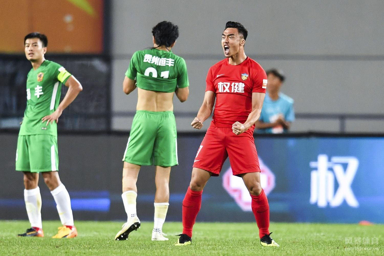 赵旭日远射建功,贵州外援耶拉维奇点球被张璐扑出,权健小胜贵州结束5轮不胜。