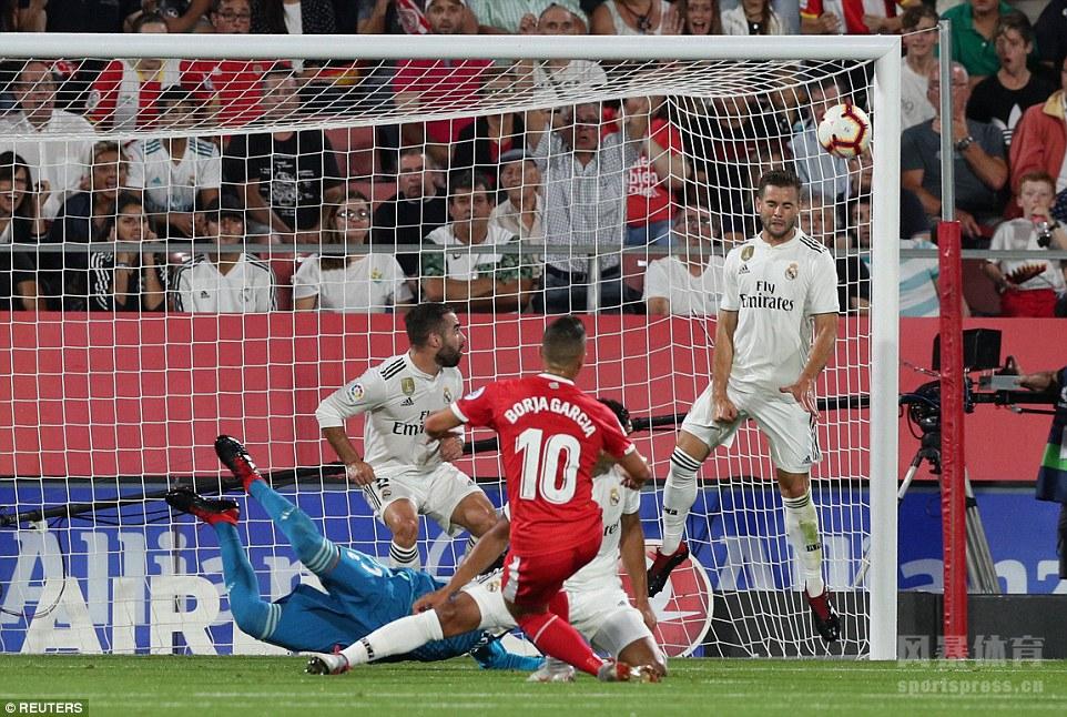 西甲 皇马4-1赫罗纳 本泽马梅开二度 贝尔传射建功