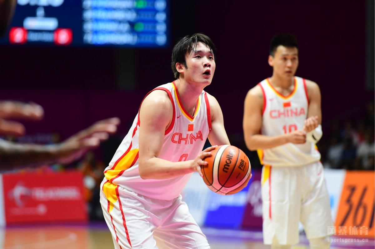 2018雅加达亚运会男篮1/4决赛:中国98-63印度尼西亚