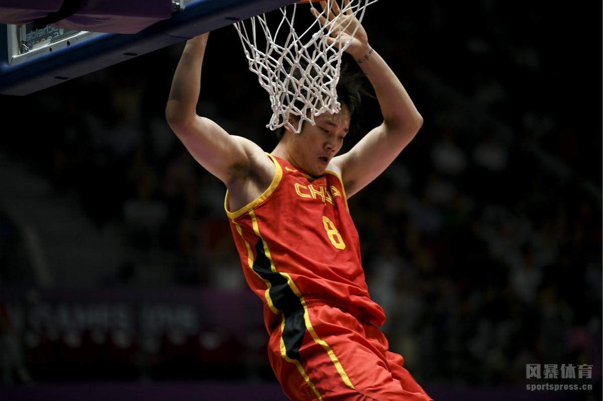 当地时间2018年8月30日,印尼雅加达,2018雅加达亚运会男篮半决赛,中国86-63中国台北。