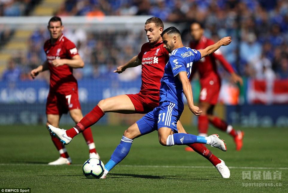 英超 利物浦2-1莱斯特城 马内破门 菲尔米诺头槌建功