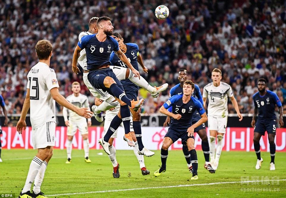 门神激情对决 德国0-0战平法国