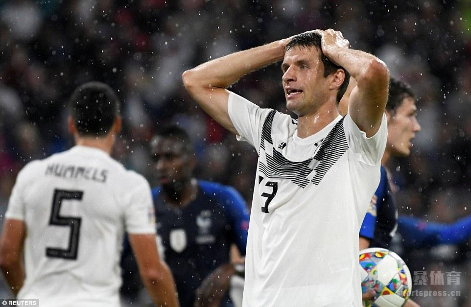 德国0-0战平法国