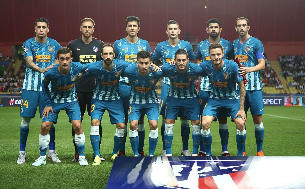 欧冠-科斯塔破荒铁卫反超 马竞客场2-1逆转摩纳哥