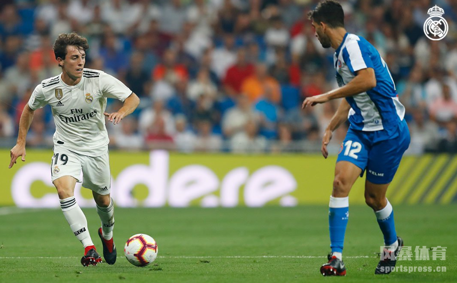 西甲-阿森西奥进球拉莫斯险送分 皇马1-0西班牙人