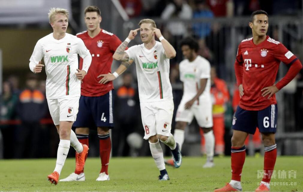 罗本破门小格策弑旧主 拜仁1-1奥格斯堡