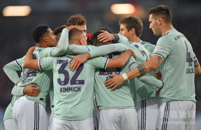 基米希传射阿拉巴莱万格纳布里建功 拜仁4-0汉诺威
