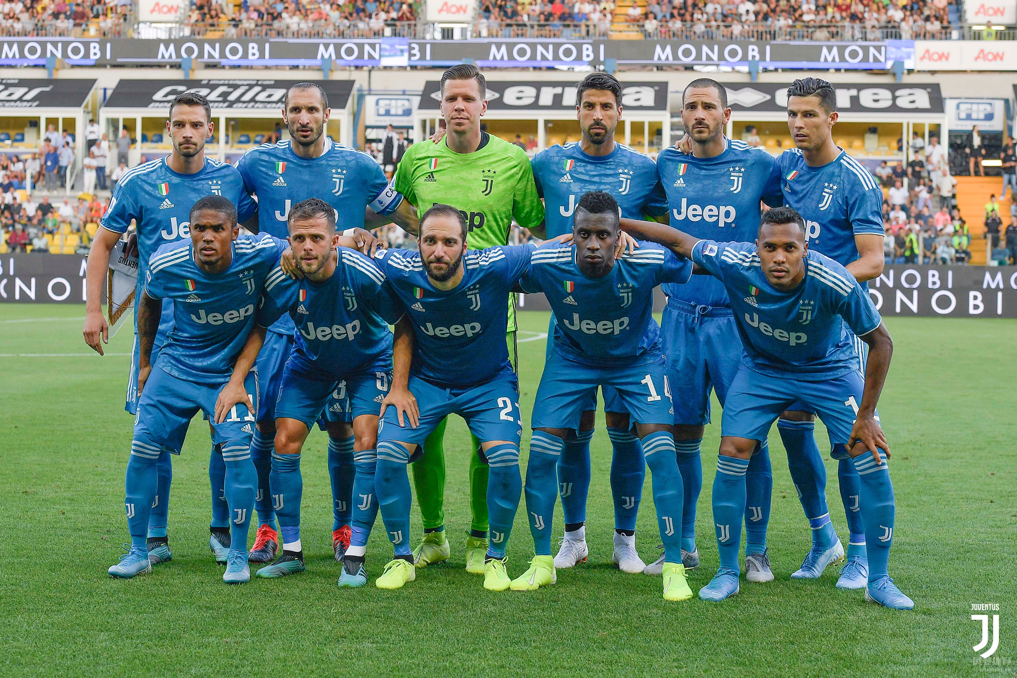 意甲第1轮 基耶利尼破门C罗进球被吹 尤文取得开门红