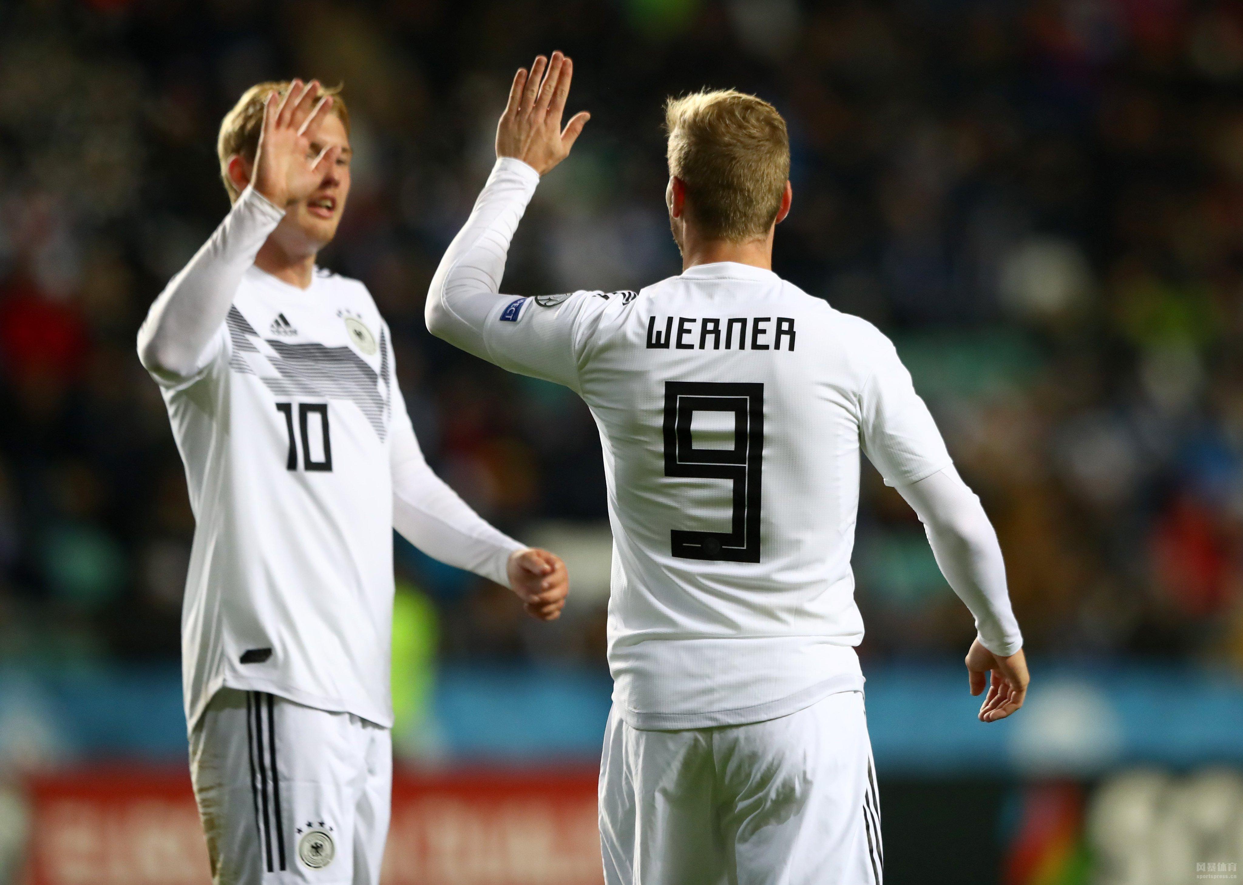 欧预赛C组第八轮,德国做客挑战爱沙尼亚。