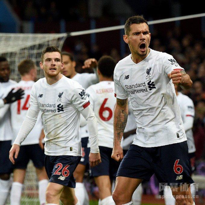 英超第11轮 马内绝杀 利物浦2-1纽卡