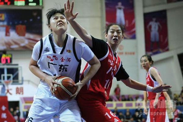广东女篮和新疆女篮