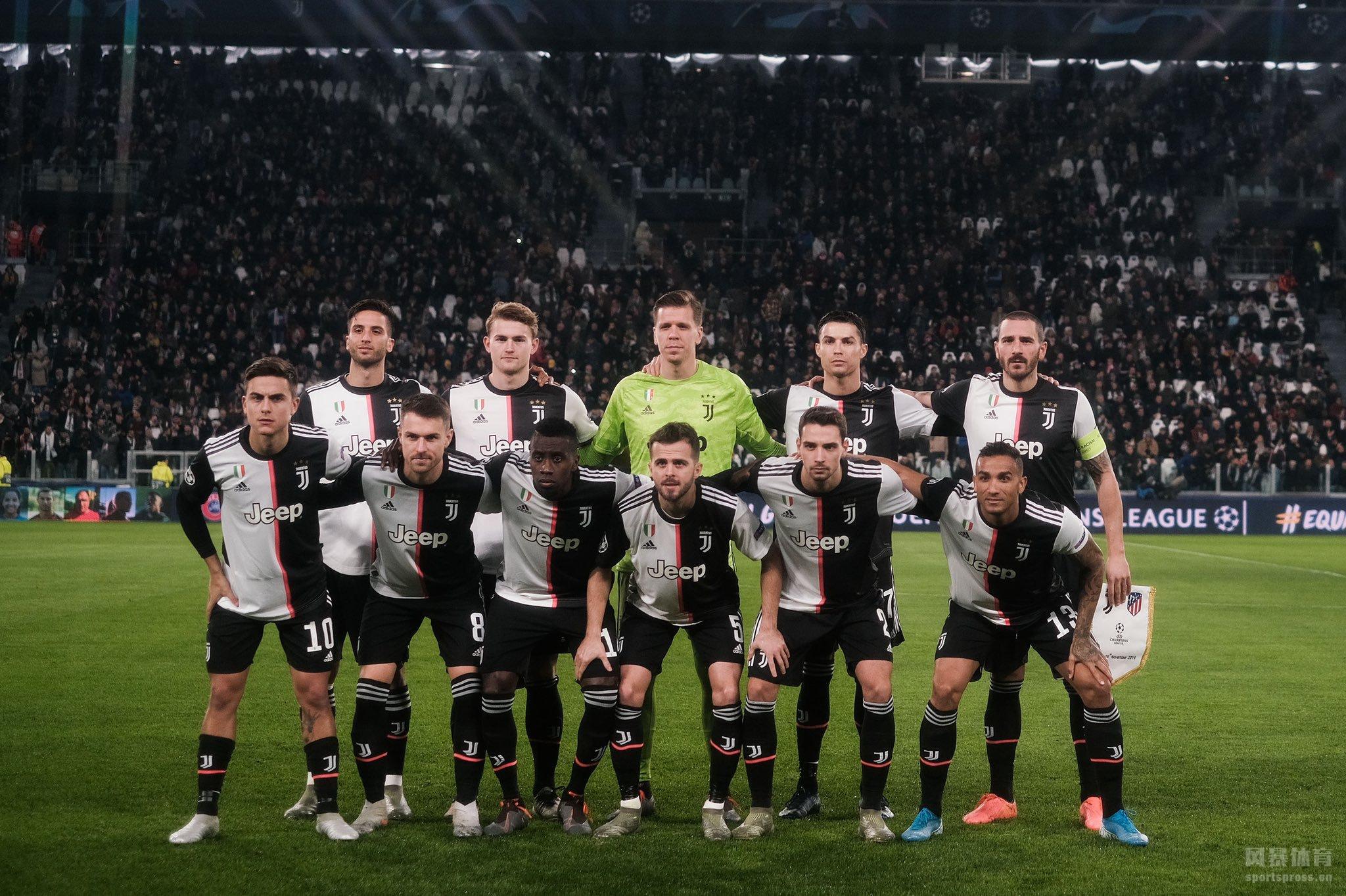 欧冠小组赛 迪巴拉零度角任意球破门 尤文1-0马竞锁头名