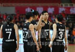 WCBA总决赛提前上演了?八一女篮VS东莞 黄思静得了多少分?