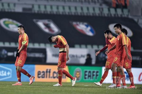国足1-2负于日本队并不出人意料