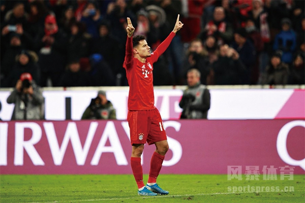 库蒂尼奥拜仁表现怎么样?单场独造5球助拜仁慕尼黑6-1不莱梅