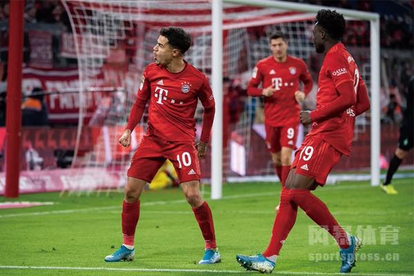 拜仁慕尼黑6-1大胜不莱梅