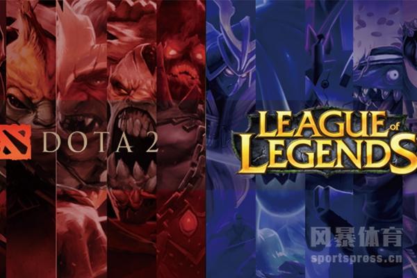 Dota2和英雄联盟两款游戏的区别