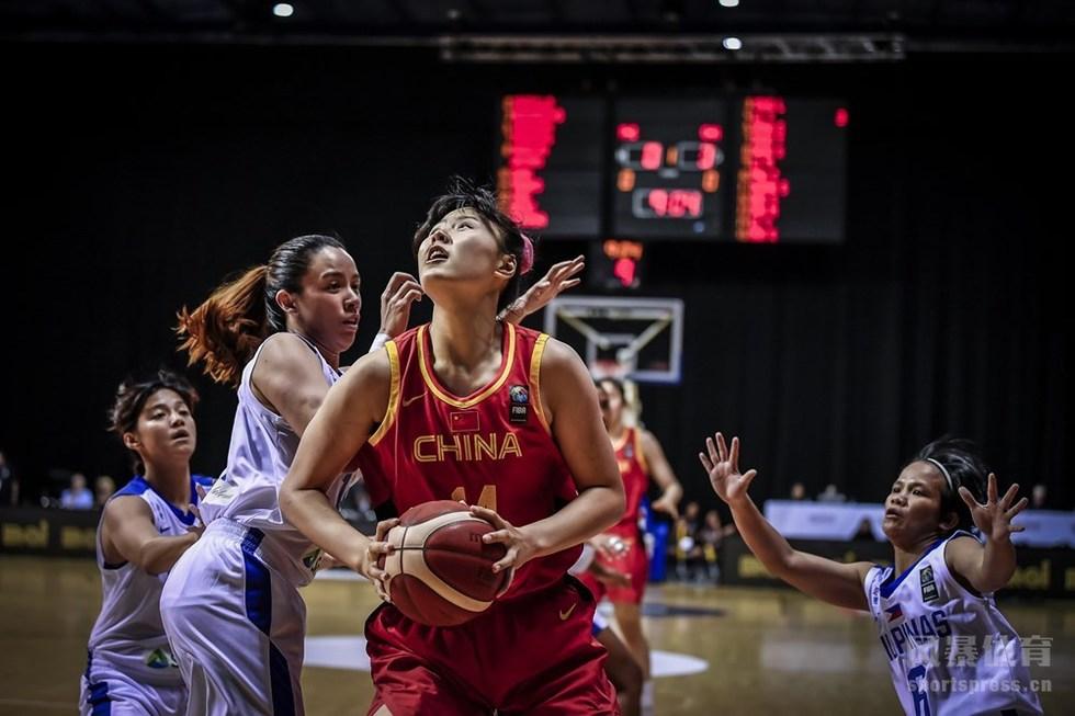 奥运资格赛女篮大胜菲律宾