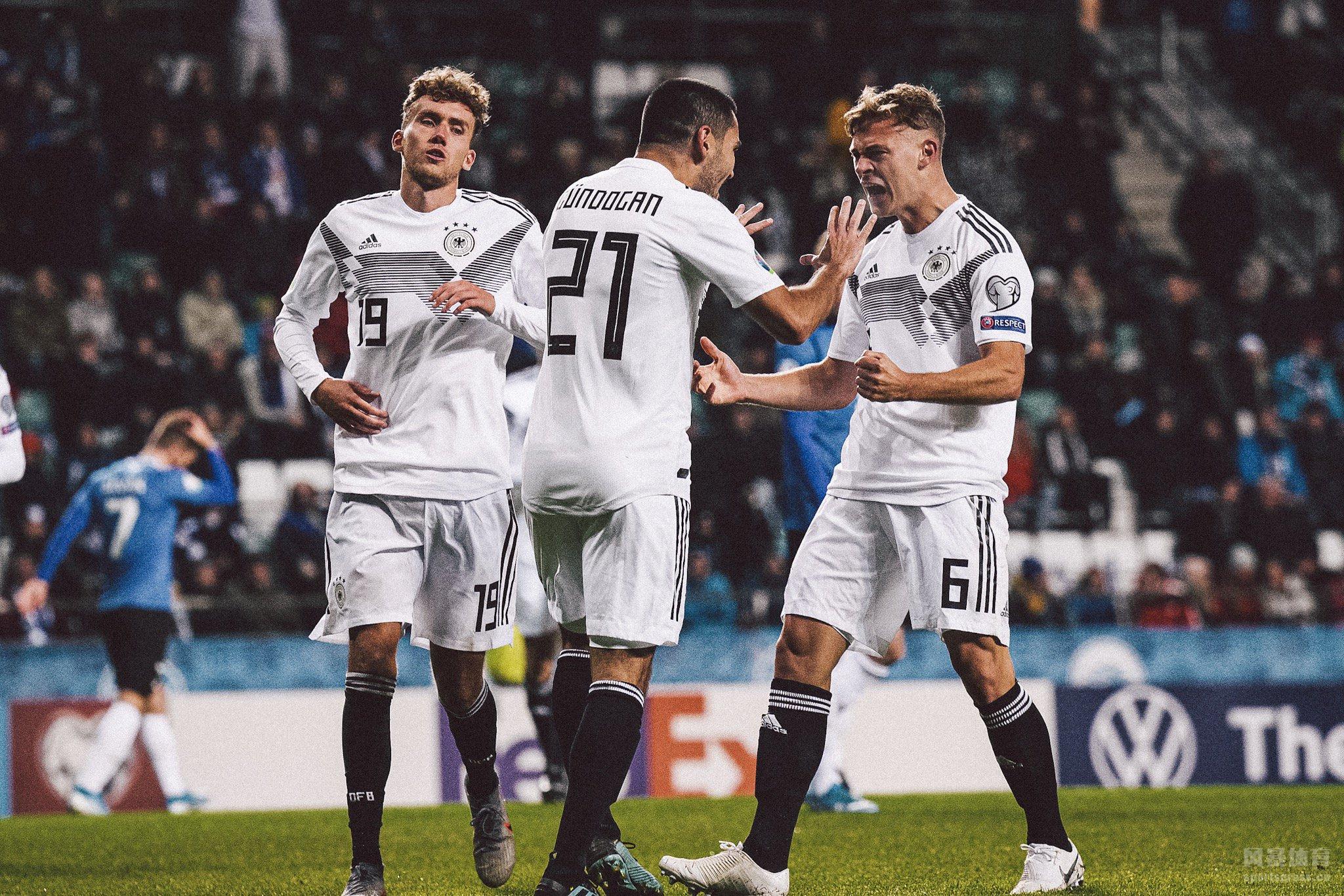 欧洲杯预选赛 爱沙尼亚0-3德国