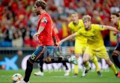 欧预赛-拉莫斯莫拉塔进球 西班牙3-0取胜领跑小组积分榜