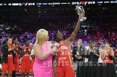 2019年WNBA全明星赛MVP艾丽卡-惠勒