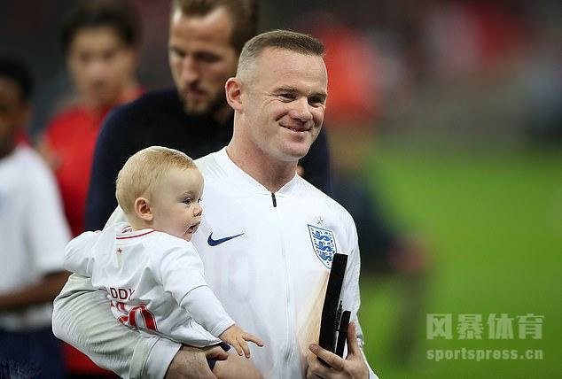 120战53球!鲁尼深情告别英格兰国脚生涯