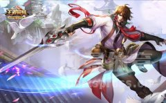《王者荣耀》游戏战士英雄桌面壁纸
