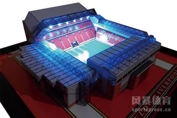 利物浦主场三维模型
